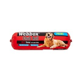 Webbox Chub Rolls Wet Moist Dog Food - Chicken