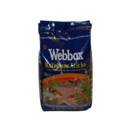Webbox Rainbow Sticks Floating KOI CARP & Pond Fish Food