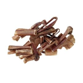 Bulls Pizzle Bully Stick End Pieces Dog Treat Chew