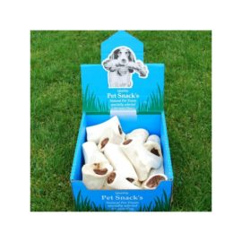 15 x Meat Filled Dog Bone Treat Chew Reward Gnaw