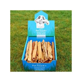 10 Inch Pork Rolls Pig Rind Dog Treat Chew